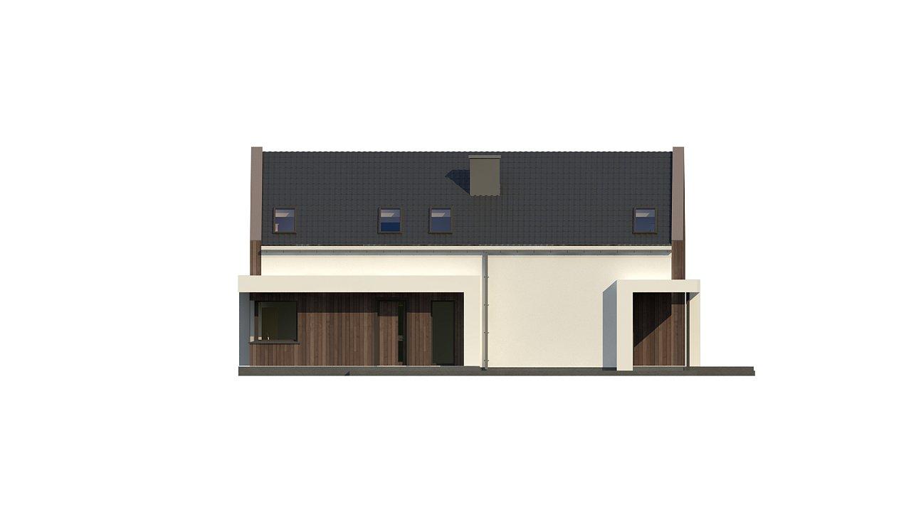 Комфортный мансардный дом для двух семей. - фото 9