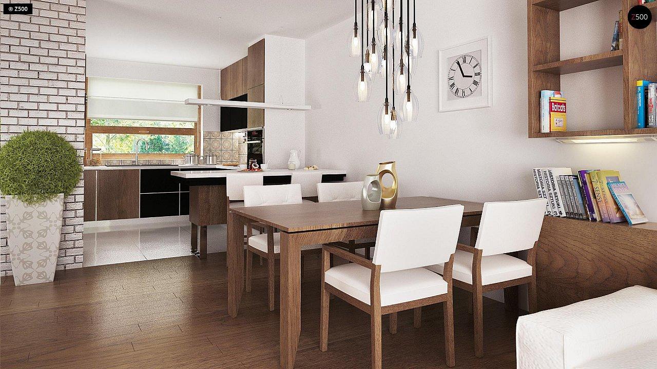 Практичный одноэтажный дом с большим гаражом, просторной гостиной и двумя спальнями. 7