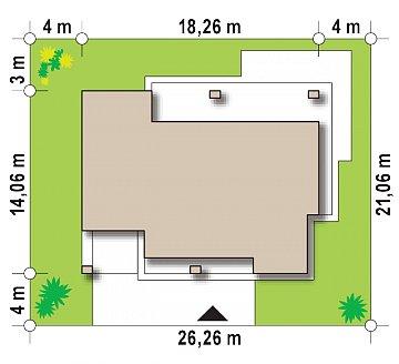 Проект дома с сауной в традиционном стиле план помещений 1