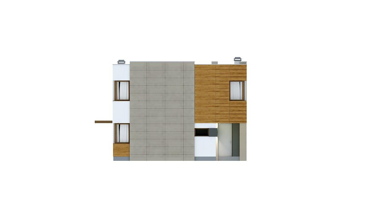 Компактный дом в стиле современного кубизма с тремя спальнями. - фото 6