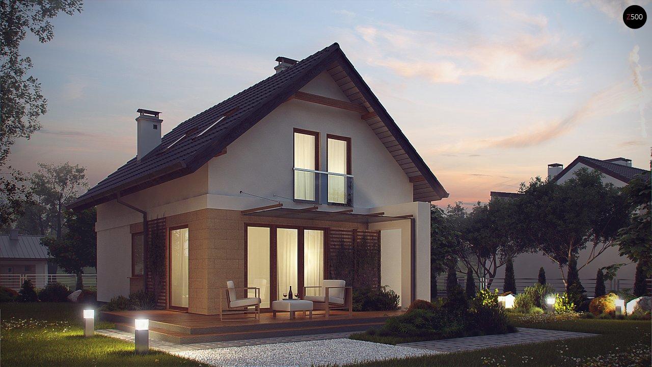 Аккуратный, практичный дом, также для узкого участка. 4
