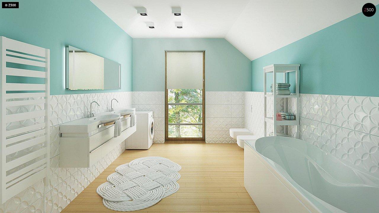Новый вариант проекта Z38 - уютного двухэтажного дома. 11