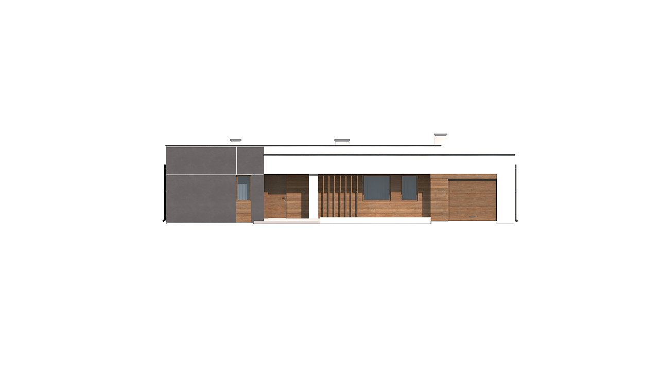 Вариант проекта Zx102 с гаражом на одну машину. 23