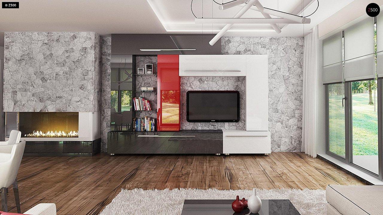 Проект стильного одноэтажного дома с функциональной планировкой - фото 8