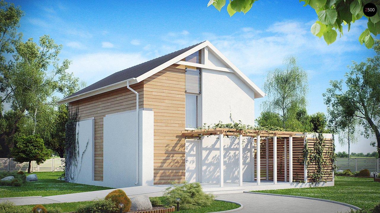Выгодный в строительстве и эксплуатации двухэтажный дом простой формы. - фото 3
