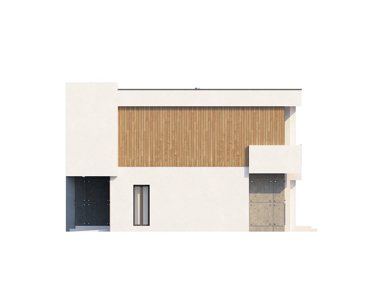 Просторный дом современного дизайна с гаражом и кабинетом на первом этаже. 6