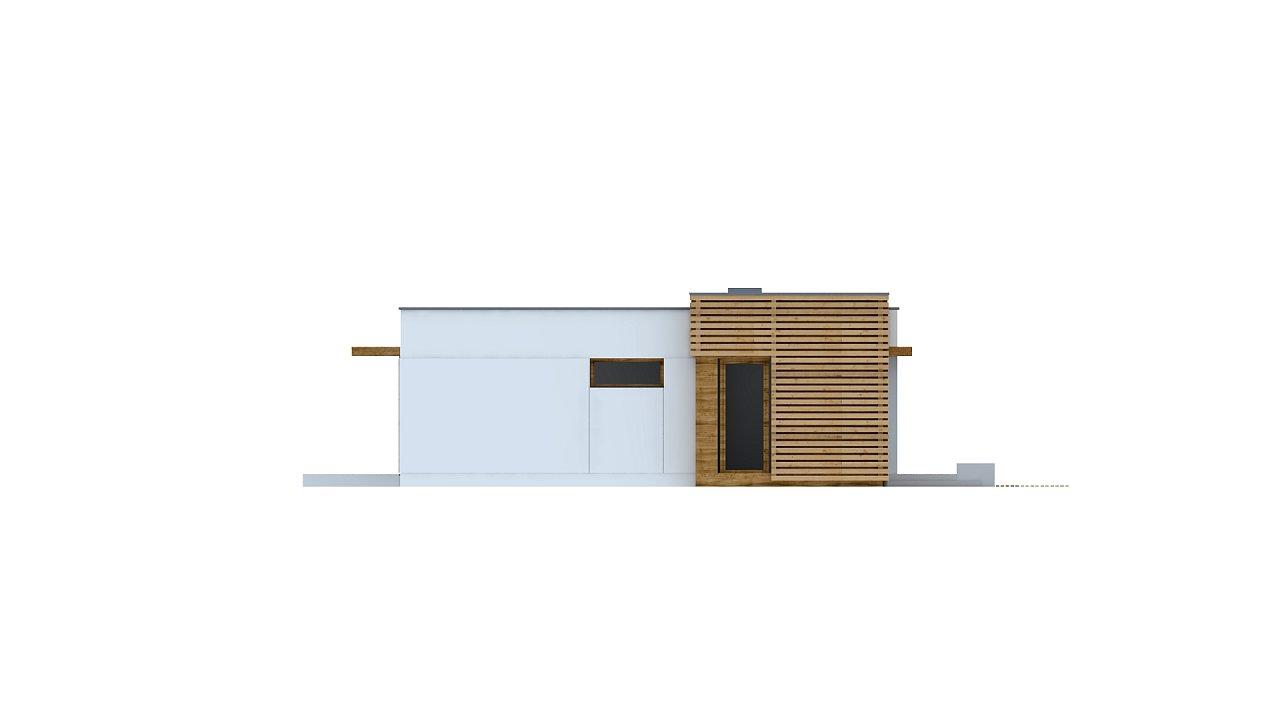 Современный комфортабельный одноэтажный дом с функциональным интерьером и уютной террасой. 27