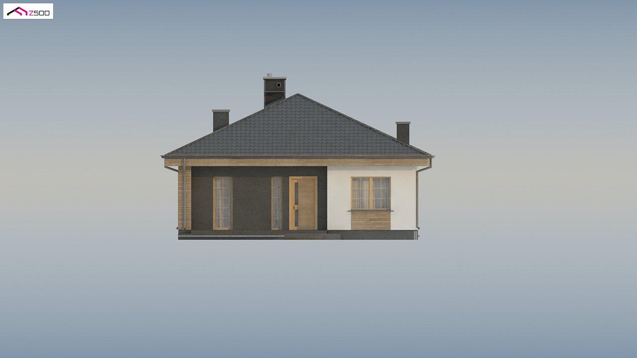Красивый одноэтажный дом с удобной планировкой 11
