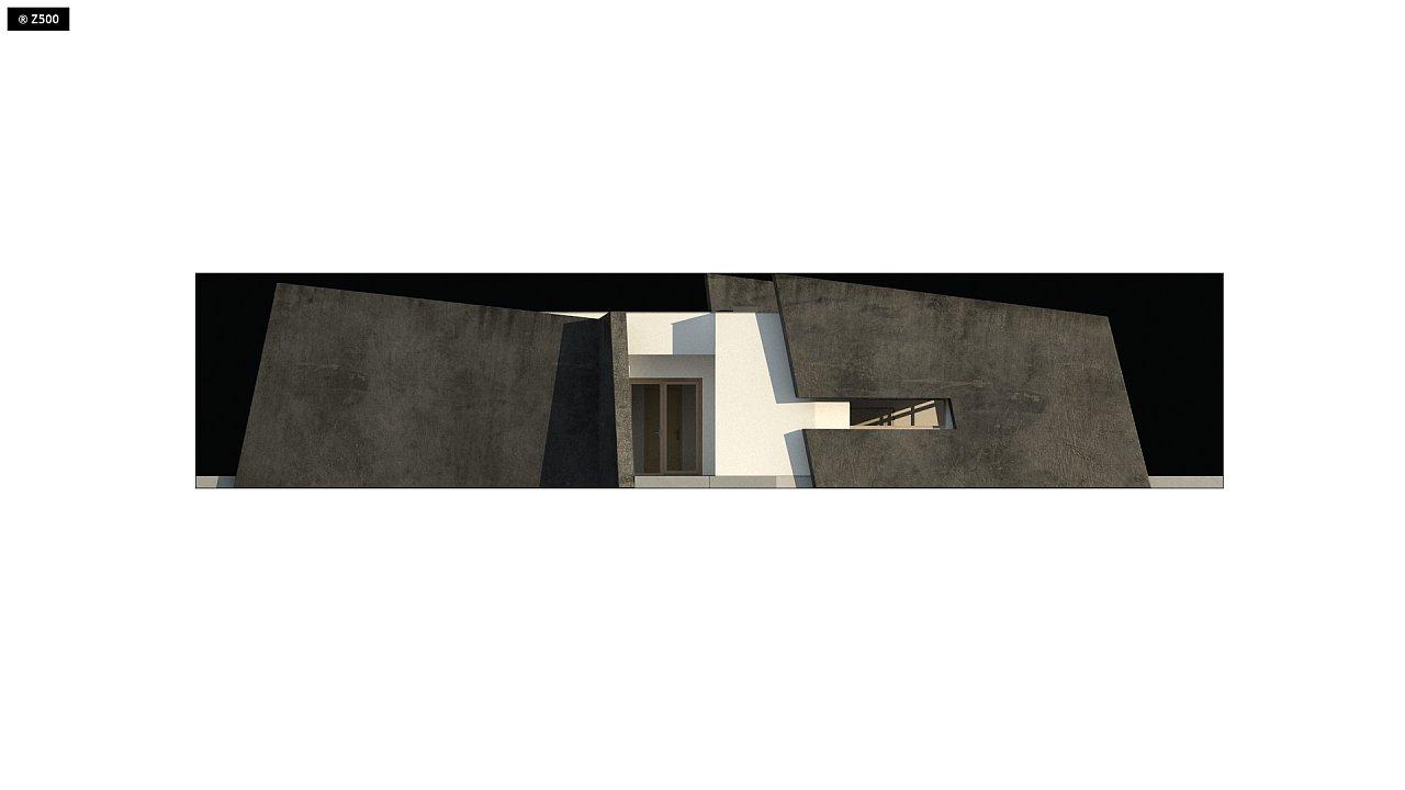 Современный одноэтажный дом в стиле минимализм 4