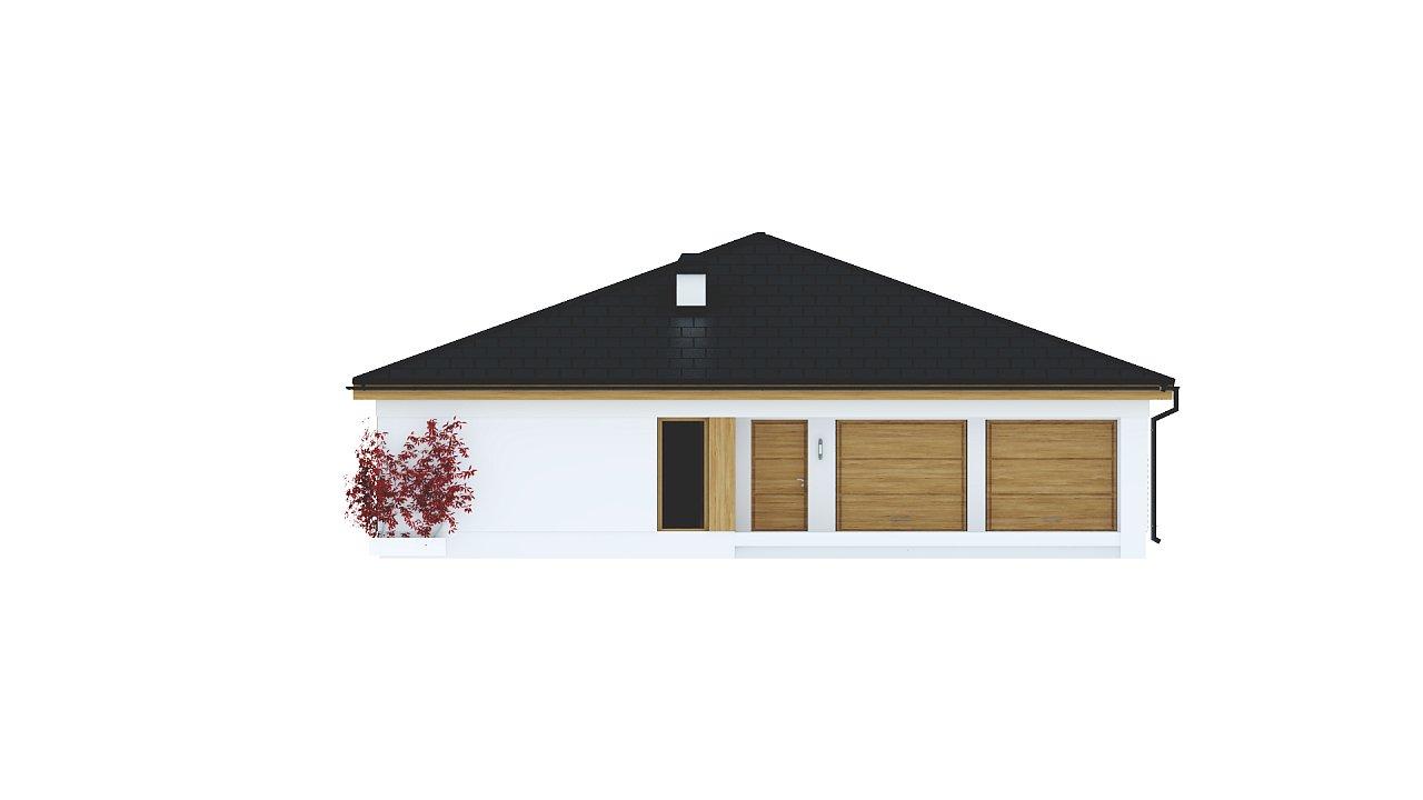 Практичный одноэтажный дом с четырьмя спальнями и гаражом. 21