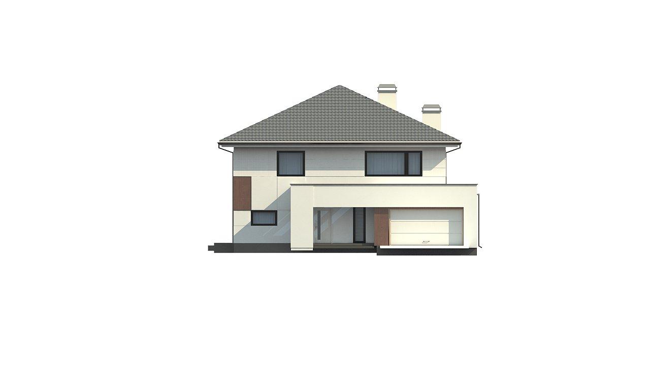 Элегантный комфортабельный двухэтажный дом с современными элементами архитектуры. - фото 6