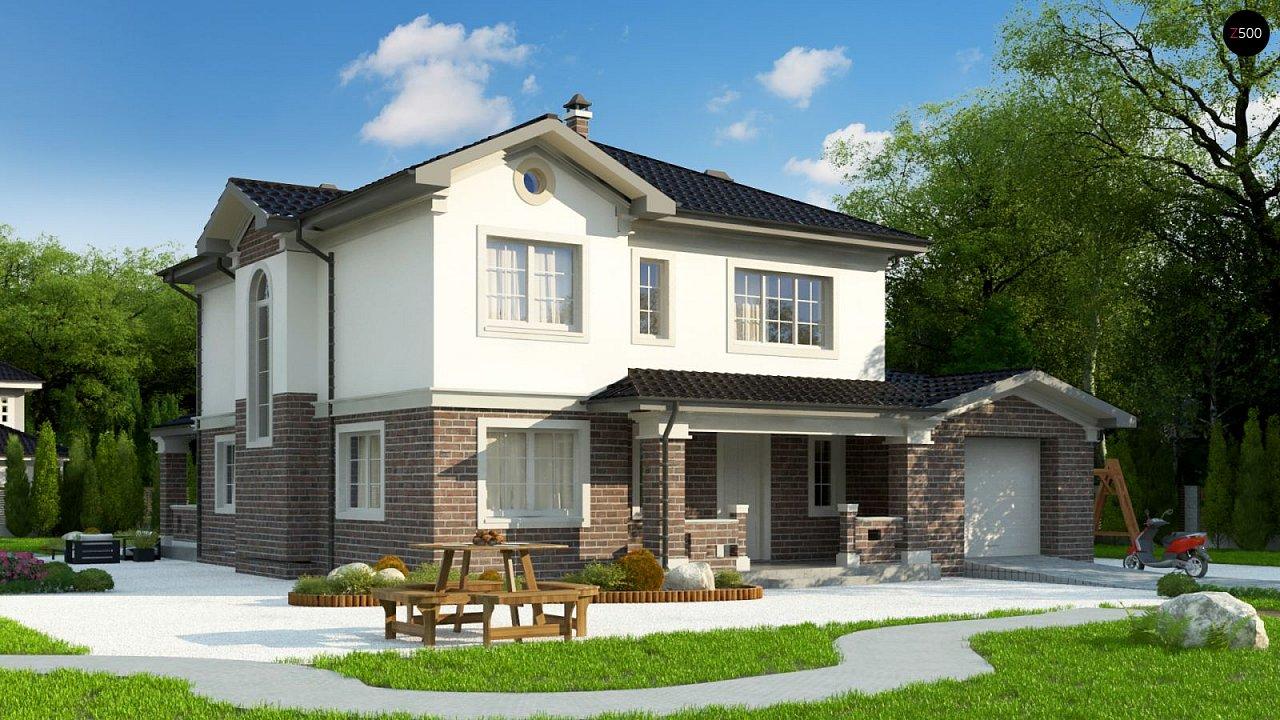 Элегантный двухэтажный дом с гаражом, с 5 спальнями - фото 2