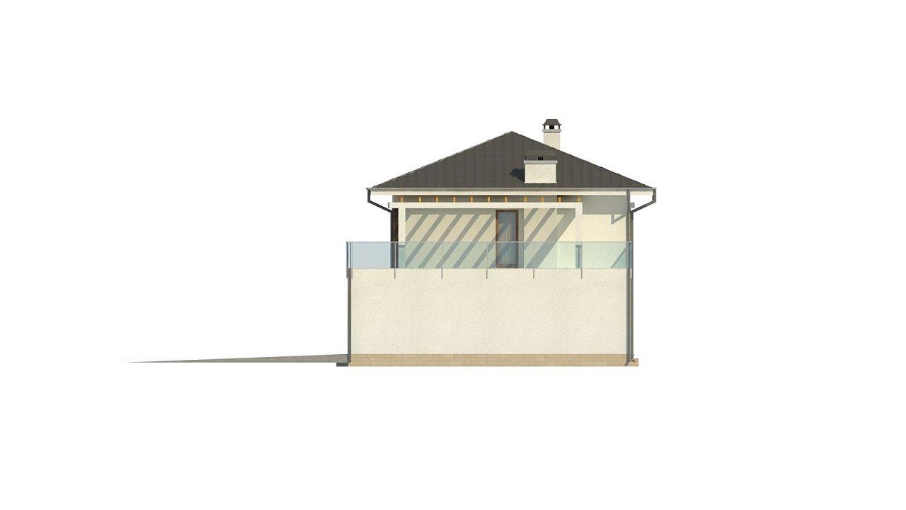 Проект двухэтажного дома Zx63 B + адаптированный под строительство в сейсмических районах 36