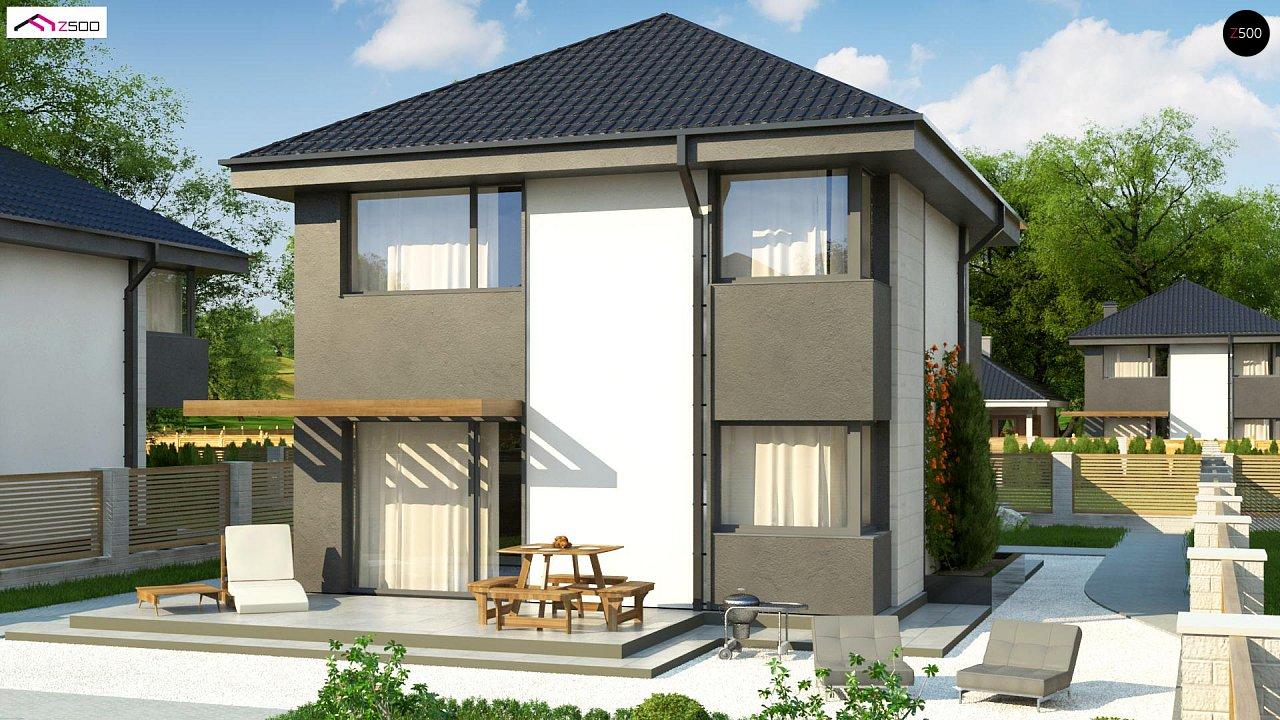 Современный двухэтажный дом с практичной планировкой 2