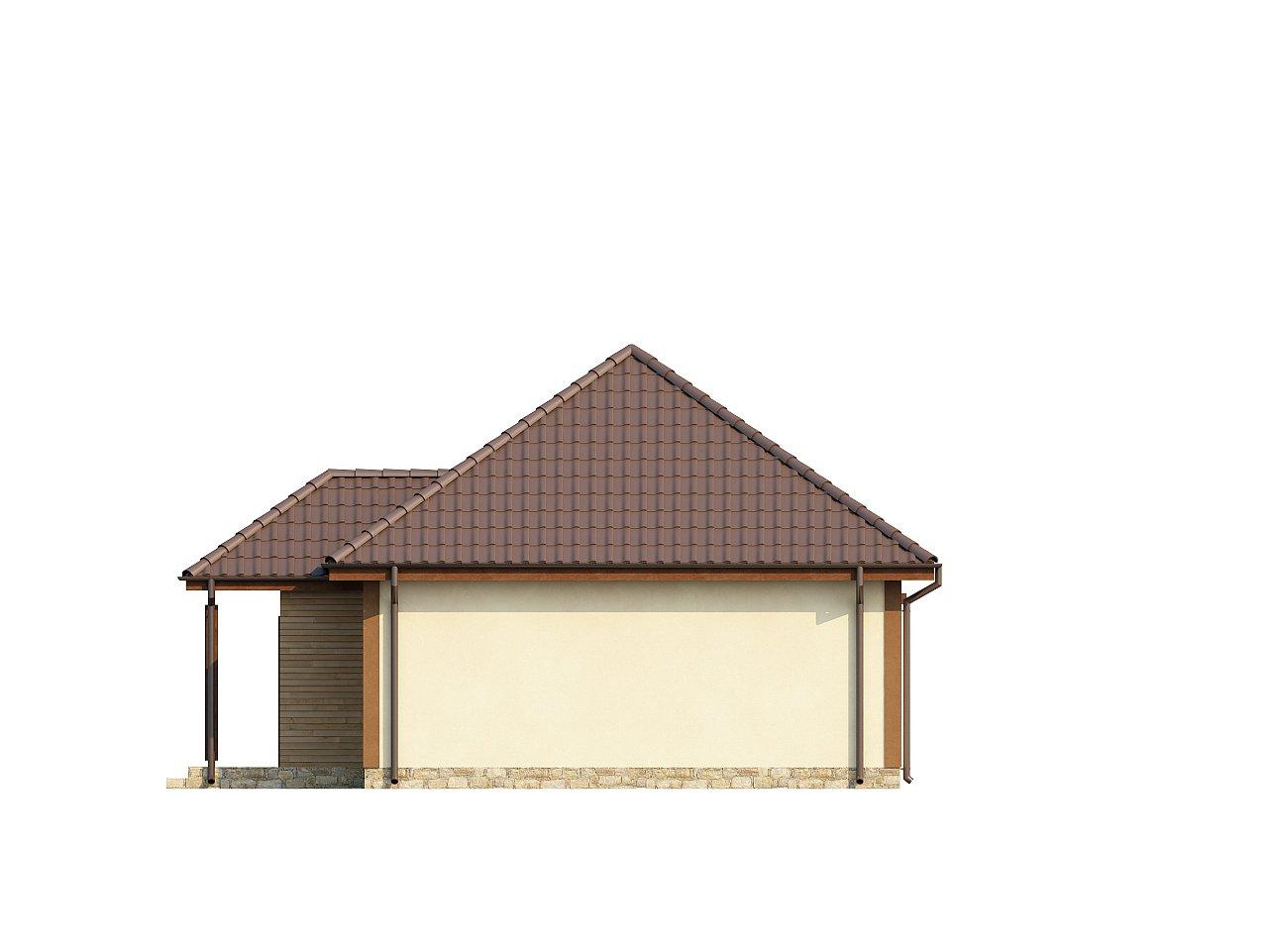 Проект маленького уютного дома с функциональной планировкой. Оснащен всем необходимым для постоянного проживания. - фото 6