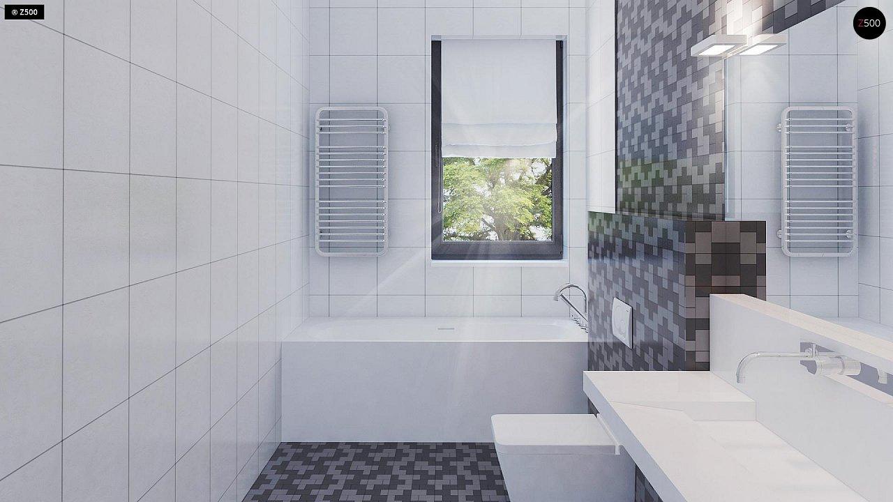 Проект стильного одноэтажного дома с функциональной планировкой - фото 17