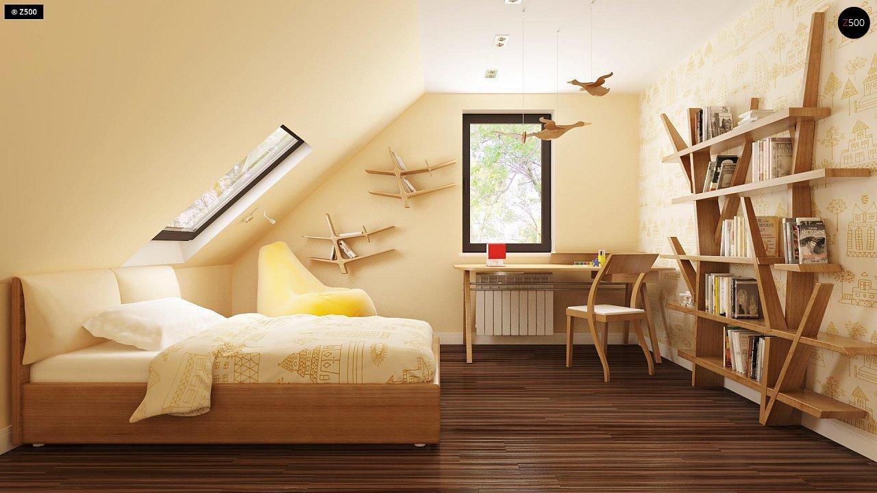 Уютный традиционный дом с эркером и кухней, расположенными на южной стороне, а также с дополнительной спальней на первом этаже. - фото 12