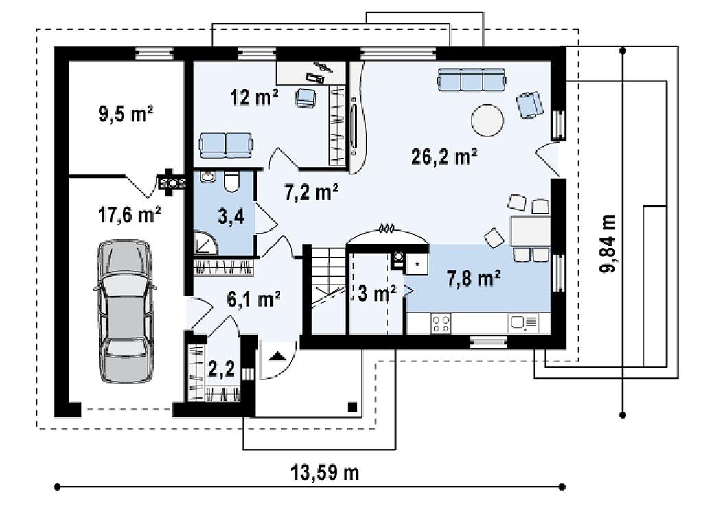 Практичный дом