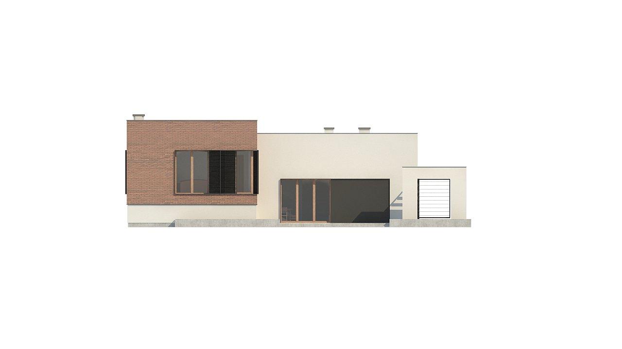 Современный дом минималистичного дизайна с подвалом - фото 13