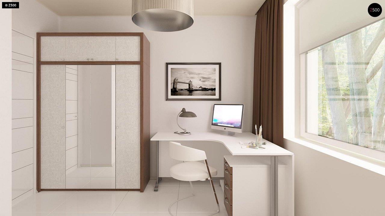 Проект компактного одноэтажного дома, экономичного как в строительстве, так и в эксплуатации. 9