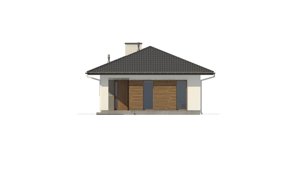 Одноэтажный функциональный дом для небольшой семьи - фото 7
