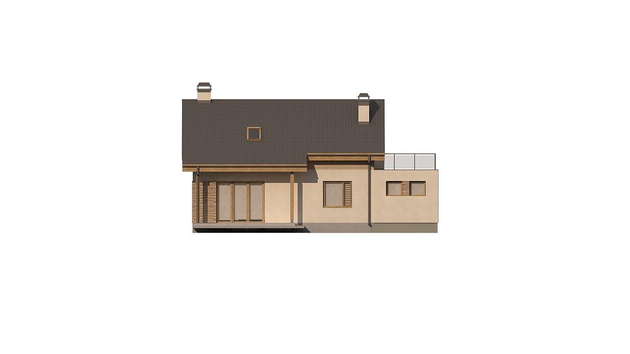Версия проекта Z210 c гаражом, с альтернативной планировкой. - фото 22