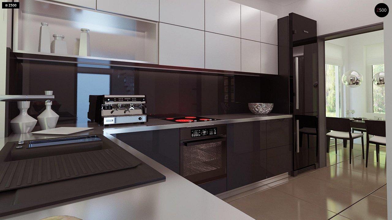Комфортный дом привлекательного дизайна с дополнительной комнатой над гаражом. 11