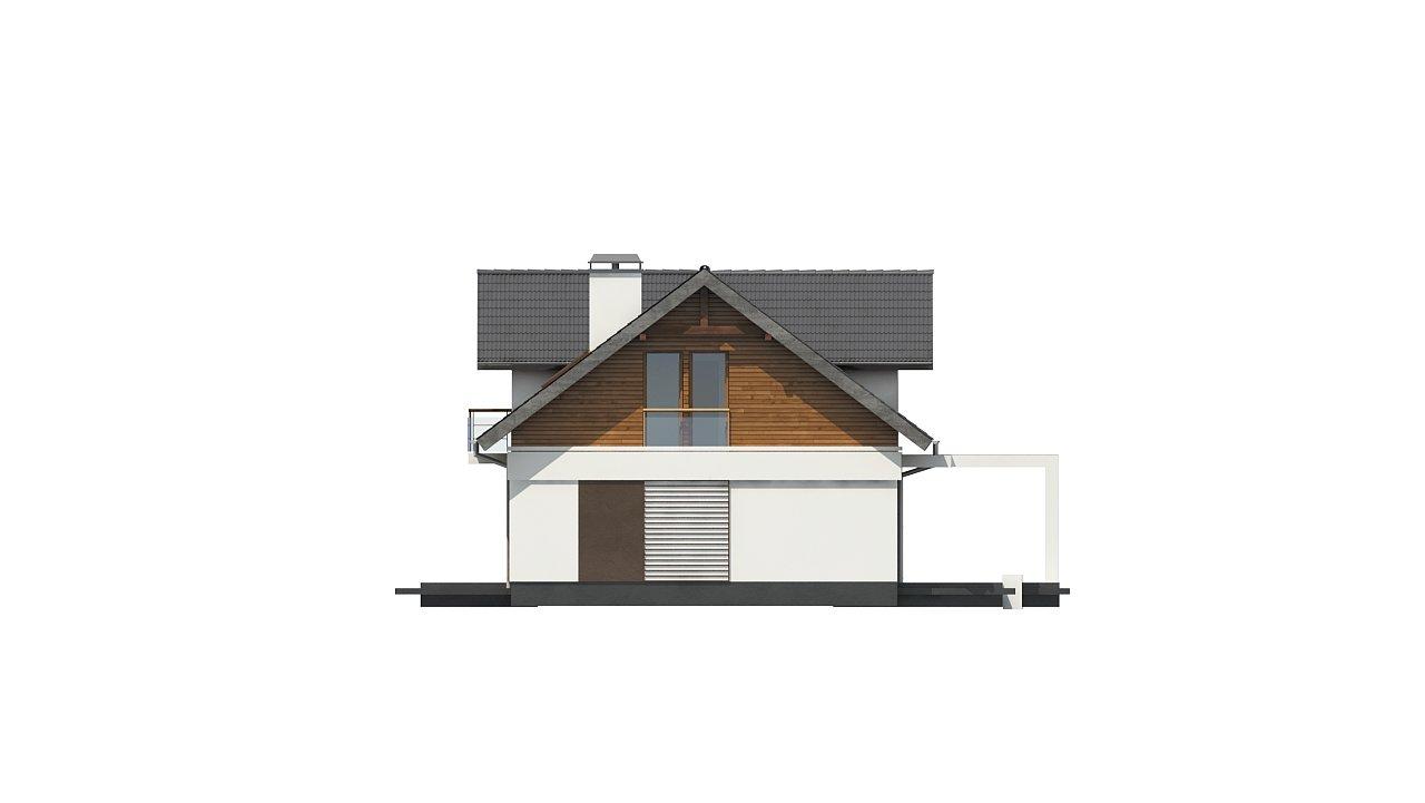 Практичный двухквартирный дом с общими входом и техническим помещением. 10
