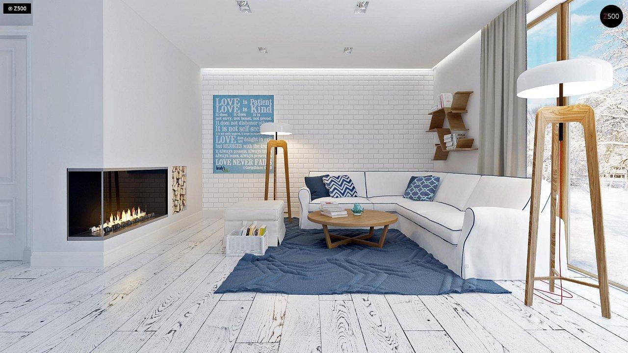 Практичный и уютный дом, идеально подходящий для вытянутого участка. 4