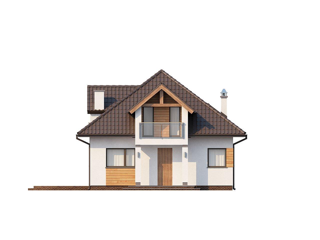 Проект практичного и уютного традиционного дома. 3