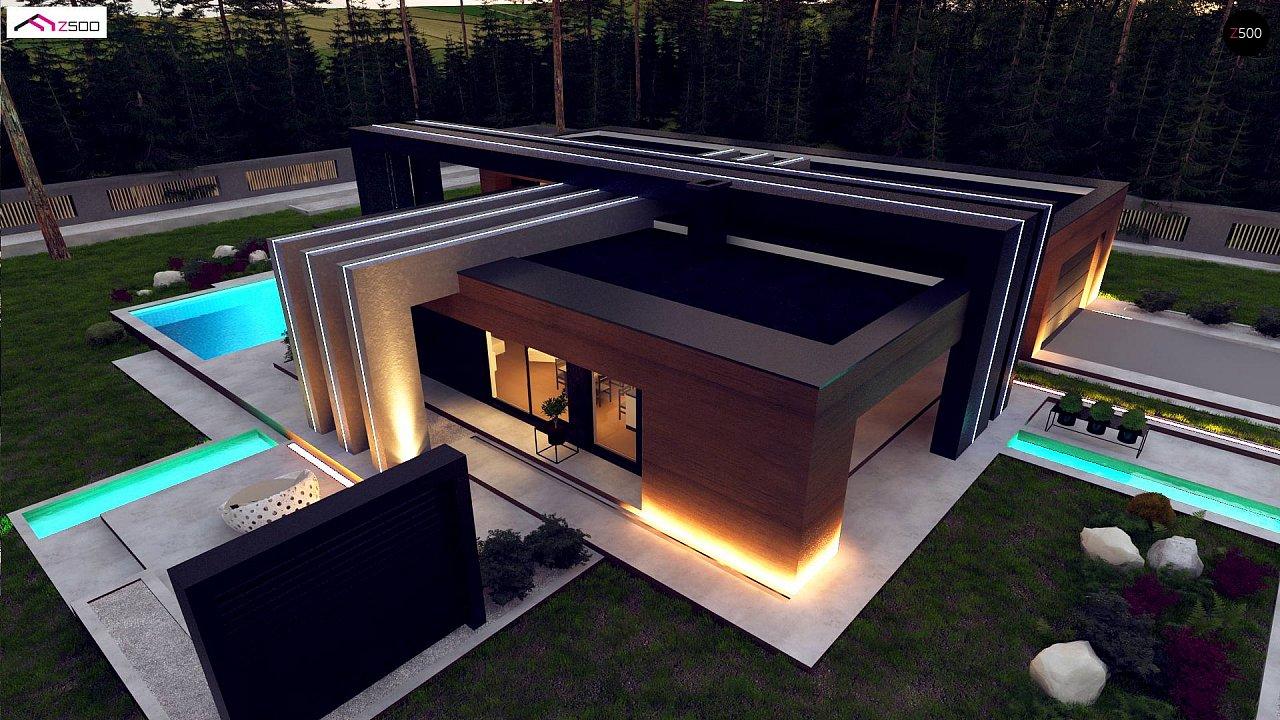 Современный дом с одноуровневой планировкой для большой семьи. - фото 5