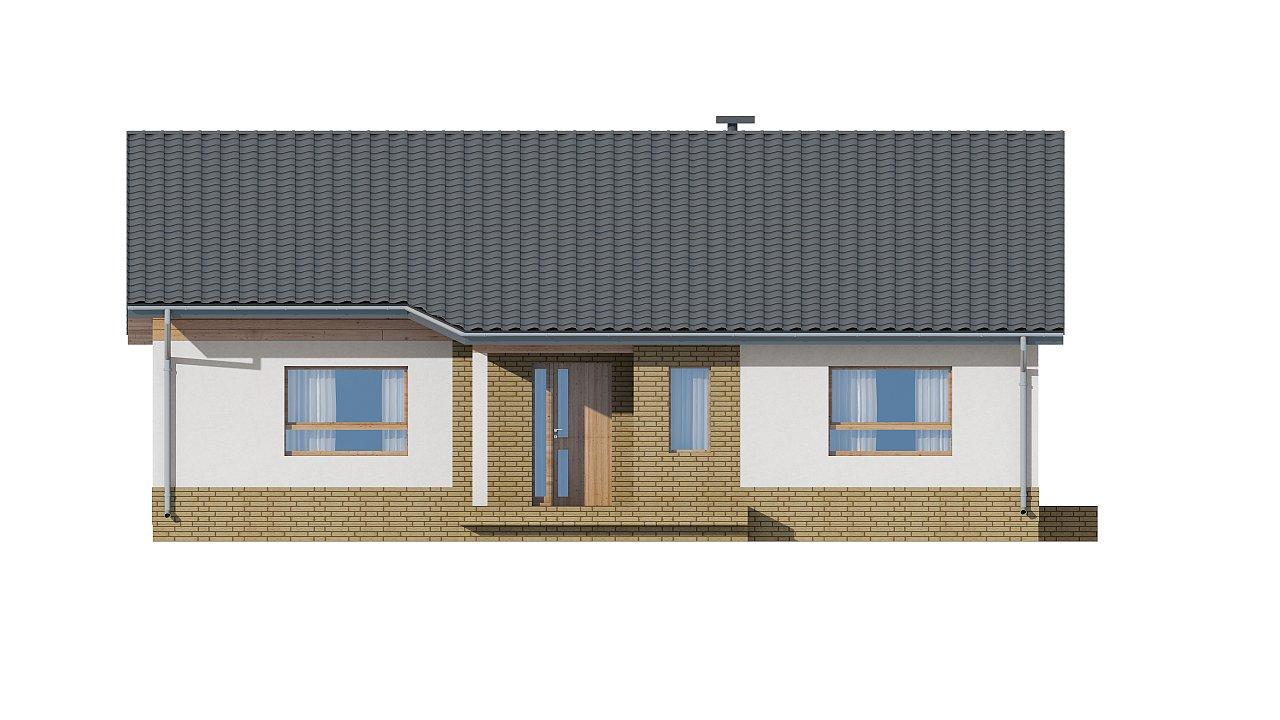 Версия увеличеного одноэтажного дома Z41 - фото 11