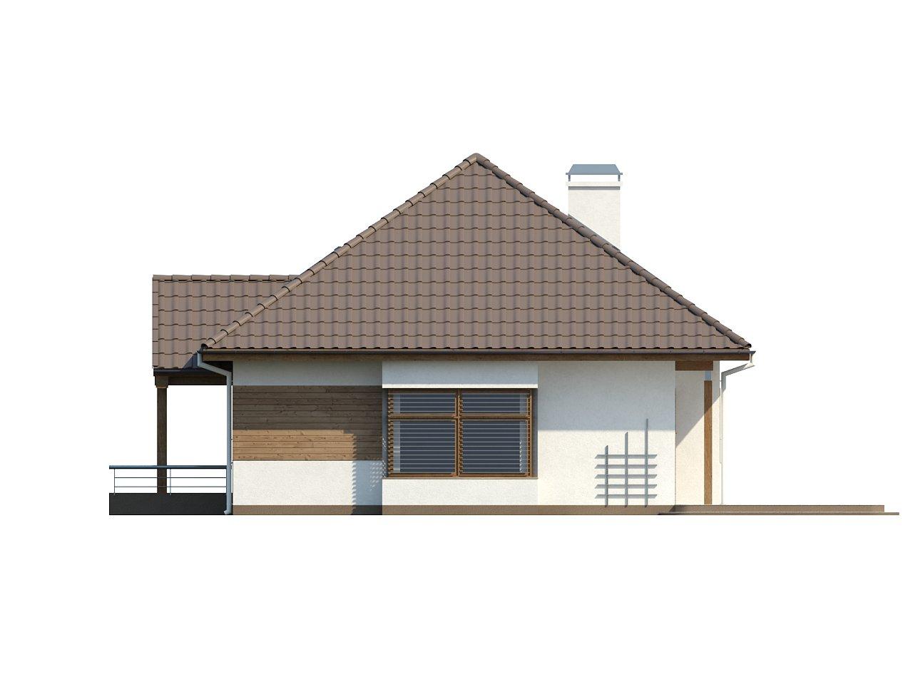 Проект традиционного дома с возможностью адаптации чердачного помещения. 14