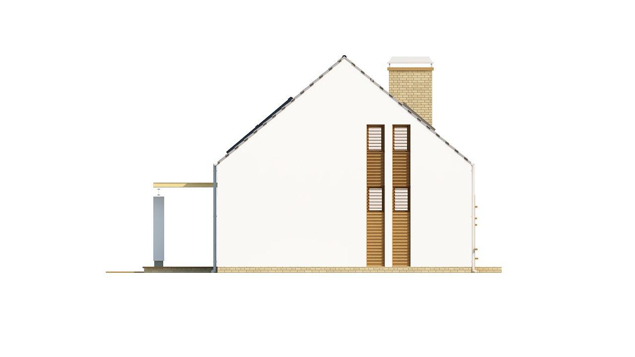 Компактный стильный дом простой формы с большой площадью остекления в дневной зоне. - фото 6