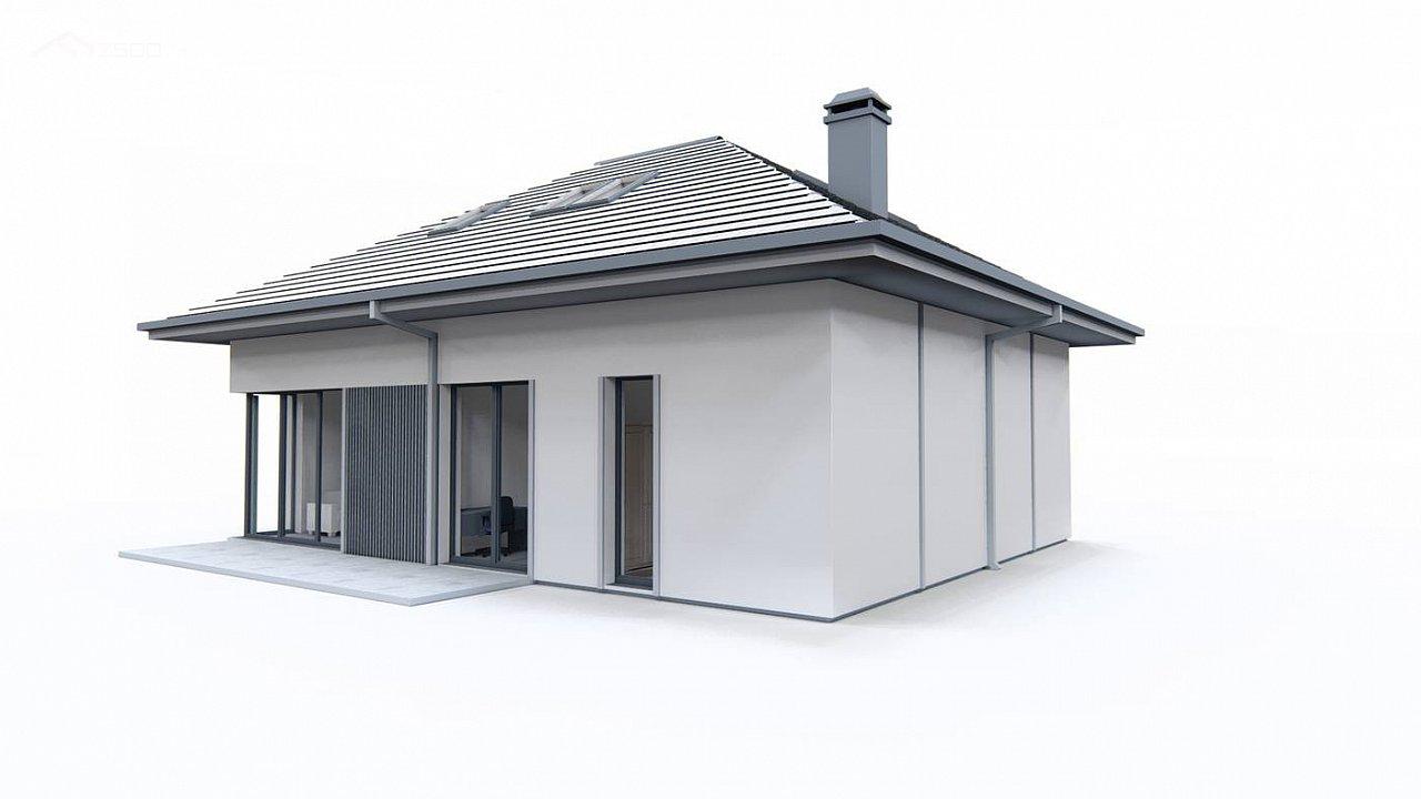 Дом с мансардой, четыре комнаты и гараж 7