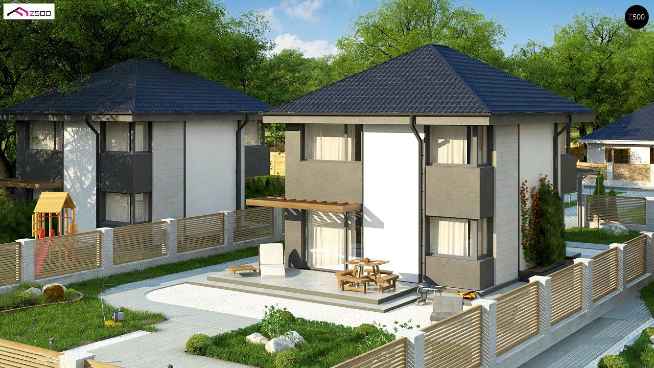 Современный двухэтажный дом с практичной планировкой 5
