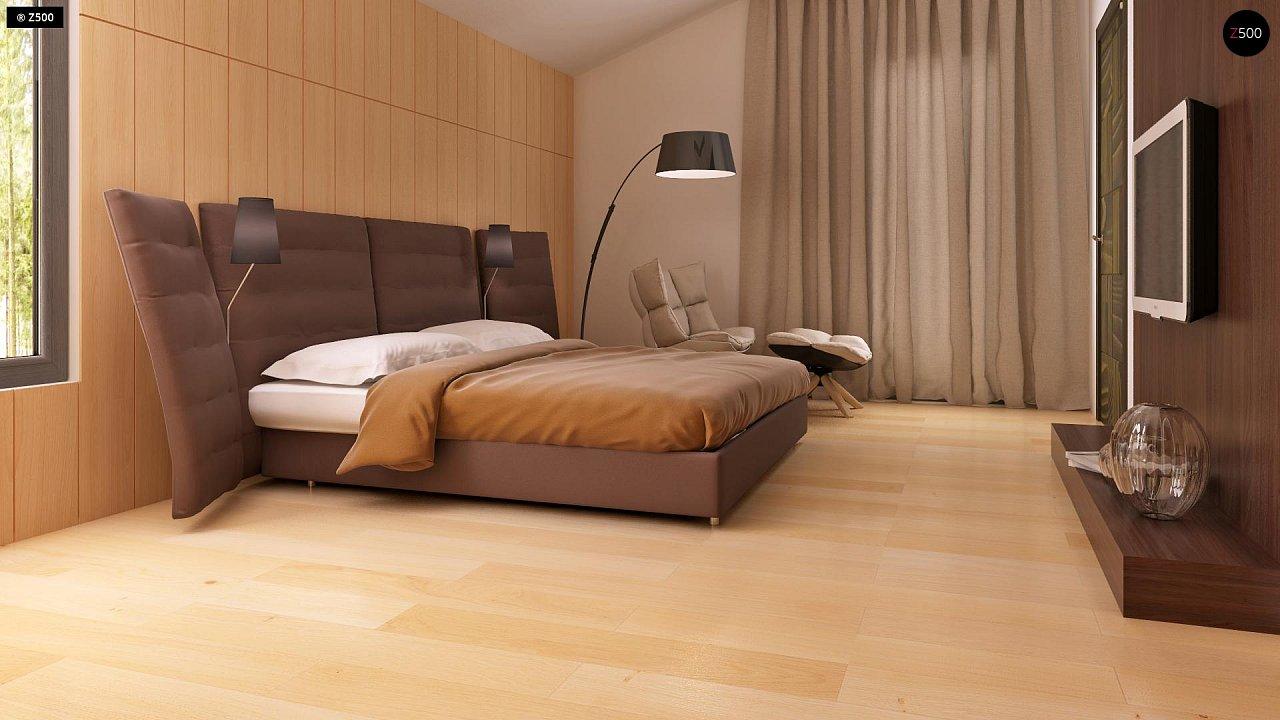 Современный эксклюзивный дом с каменной облицовкой, подходящий для узкого участка. 10