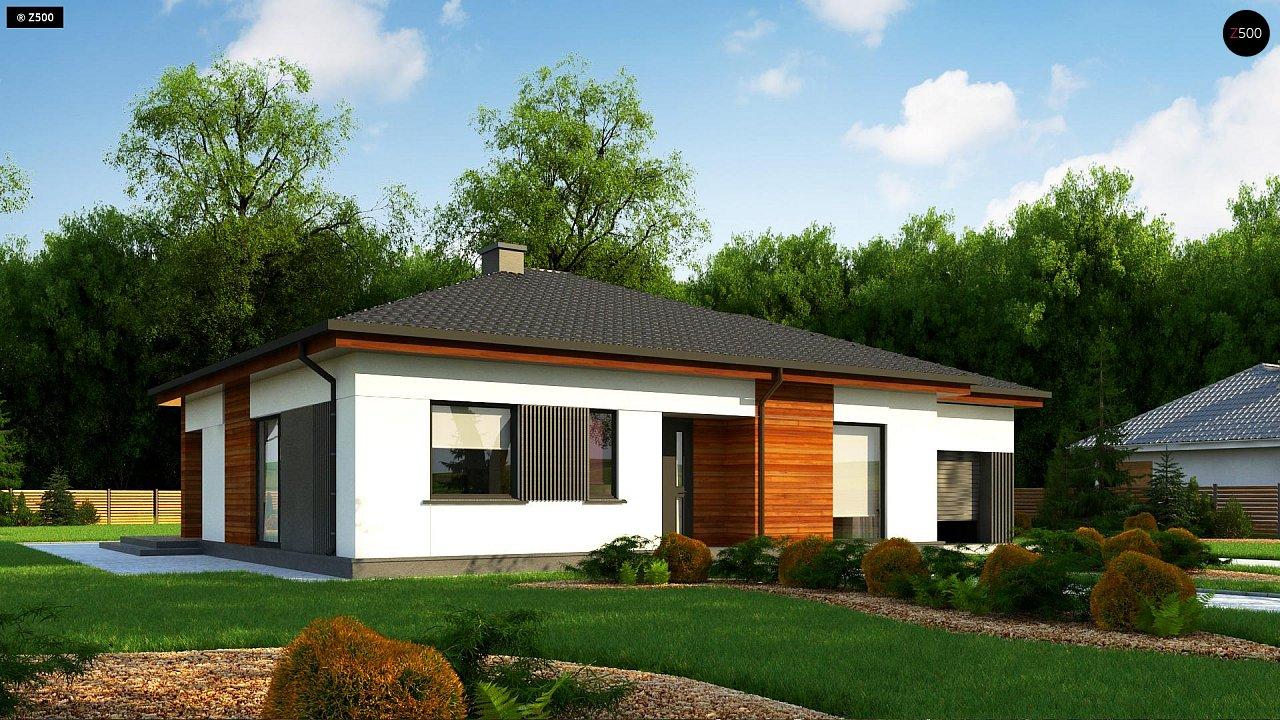 Удобный одноэтажный дом небольшой площади 1