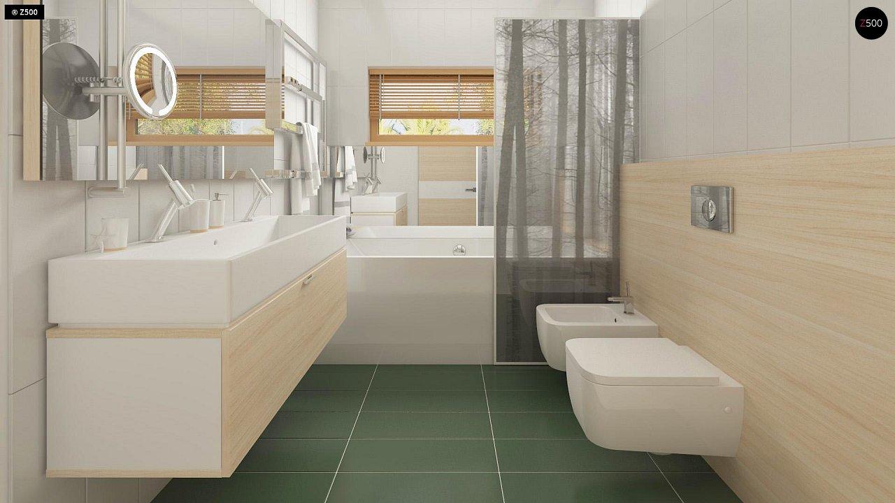 Прекрасное сочетание строгих минималистичных форм и уютного практичного интерьера. 21