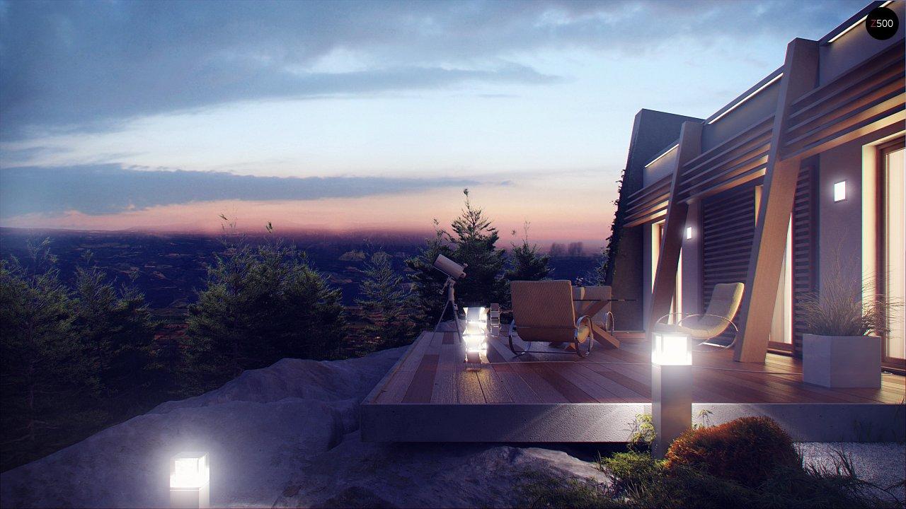 Одноэтажный дом исключительного современного дизайна. - фото 15