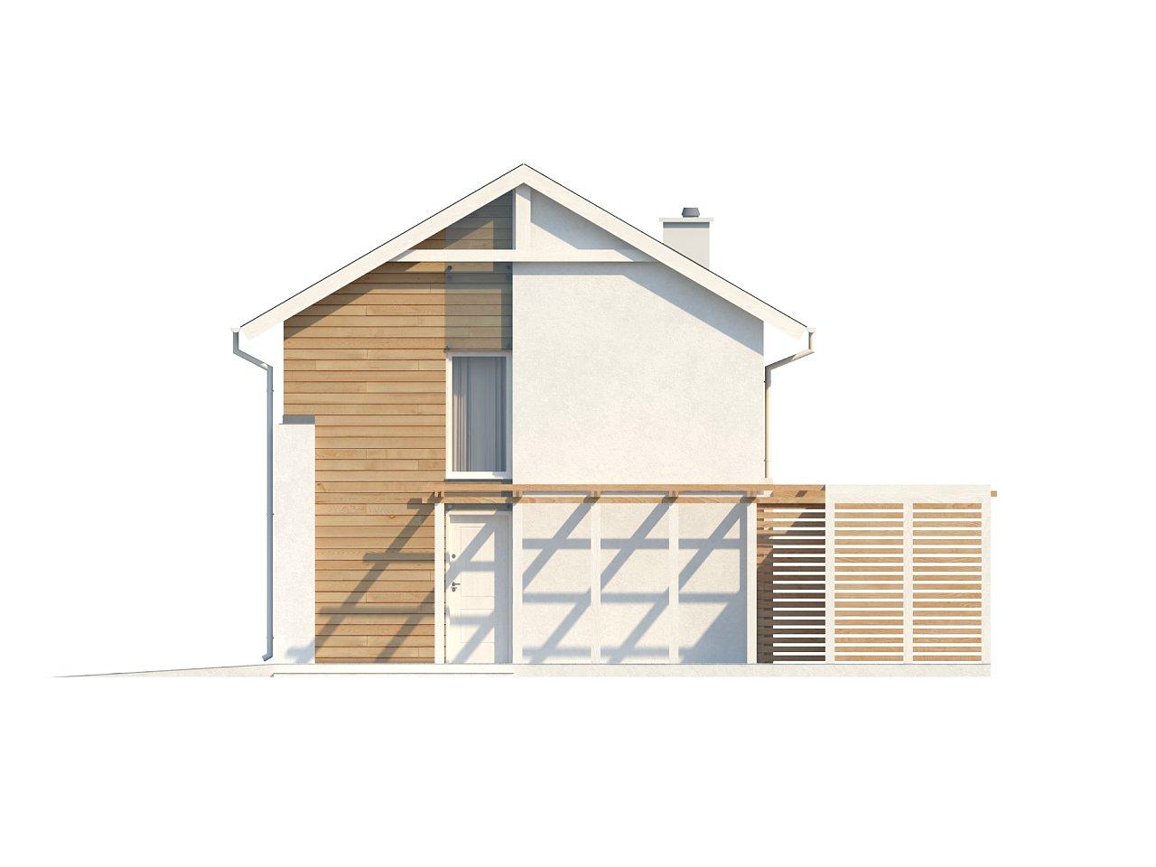 Выгодный в строительстве и эксплуатации двухэтажный дом простой формы. - фото 5