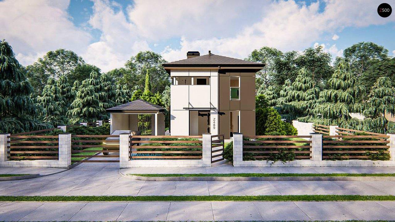 Современный проект дома с 3 спальнями 5