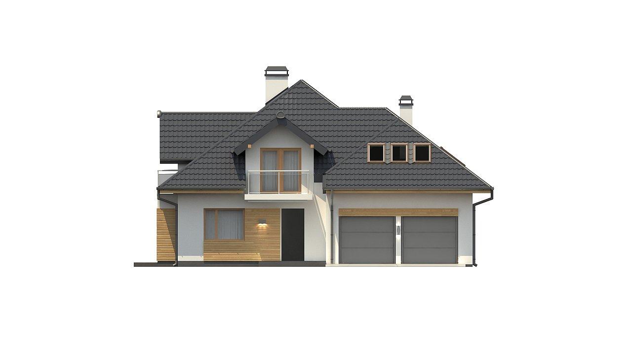 Версия проекта Z270 с альтернативной планировкой мансардного этажа. 23