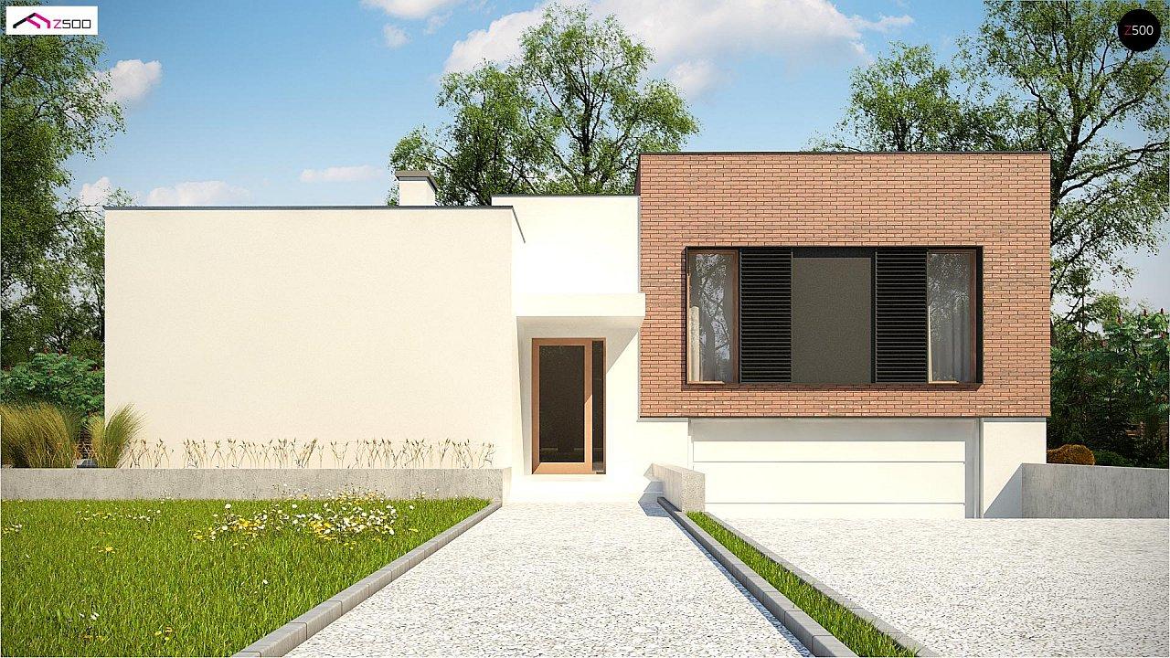 Современный дом минималистичного дизайна с подвалом - фото 2