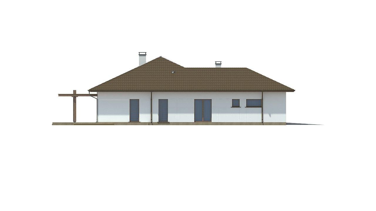 Удобный функциональный одноэтажный дом с гаражом для двух автомобилей. - фото 7