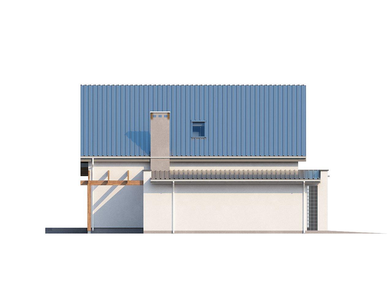 Компактный функциональный дом с оригинальными архитектурными элементами. 4