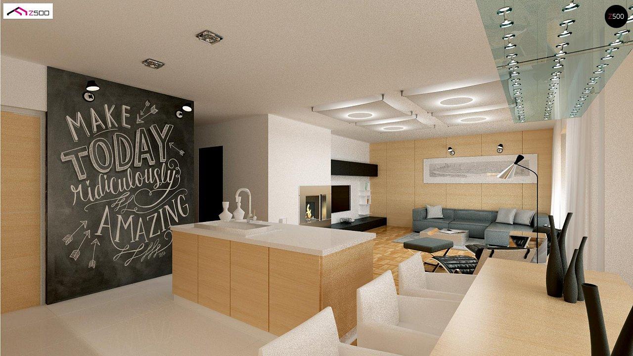 Красивый одноэтажный дом с удобной планировкой 8