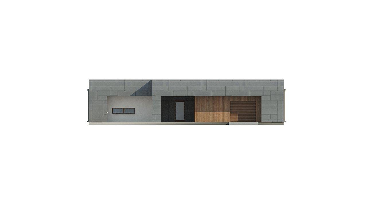 Современный односемейный одноэтажный дом с плоской крышей - фото 11