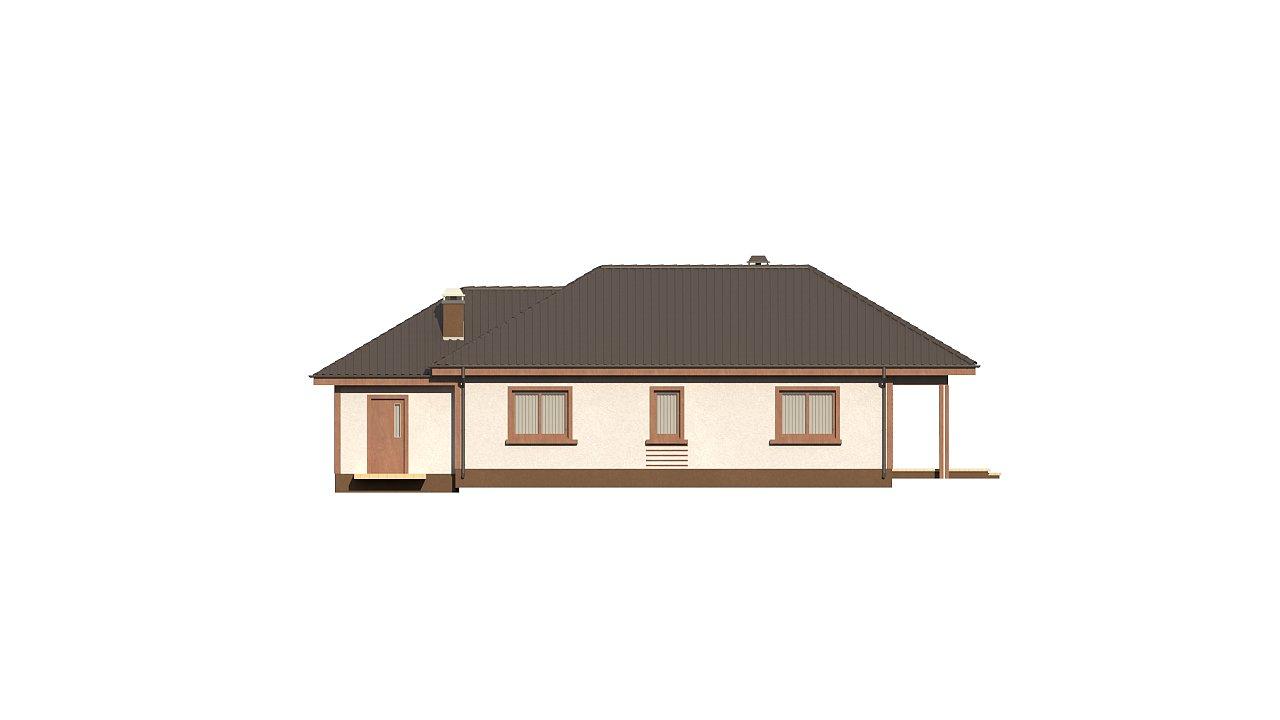 Уютный одноэтажный дом с гаражом на одну машину 6