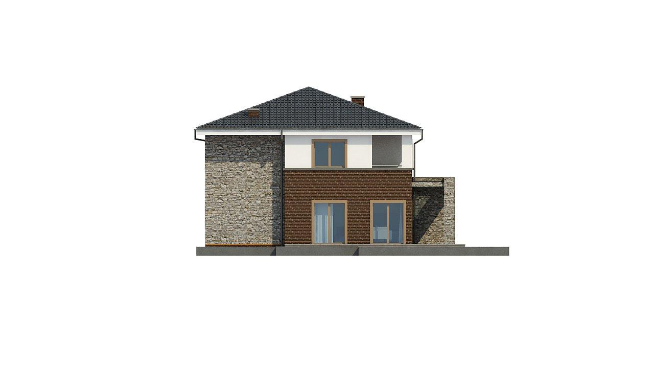 Проект дома с сауной в традиционном стиле - фото 12